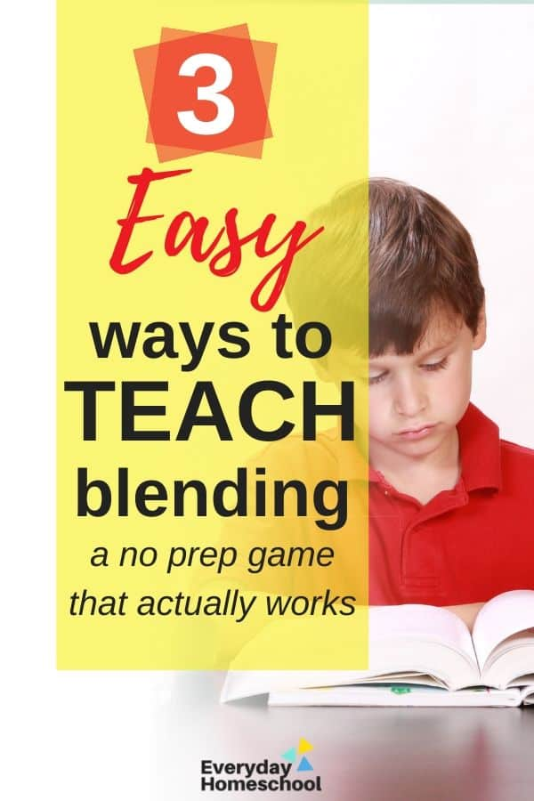 blending sounds activities for early readers