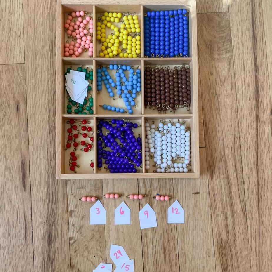 skip counting activities montessori beads