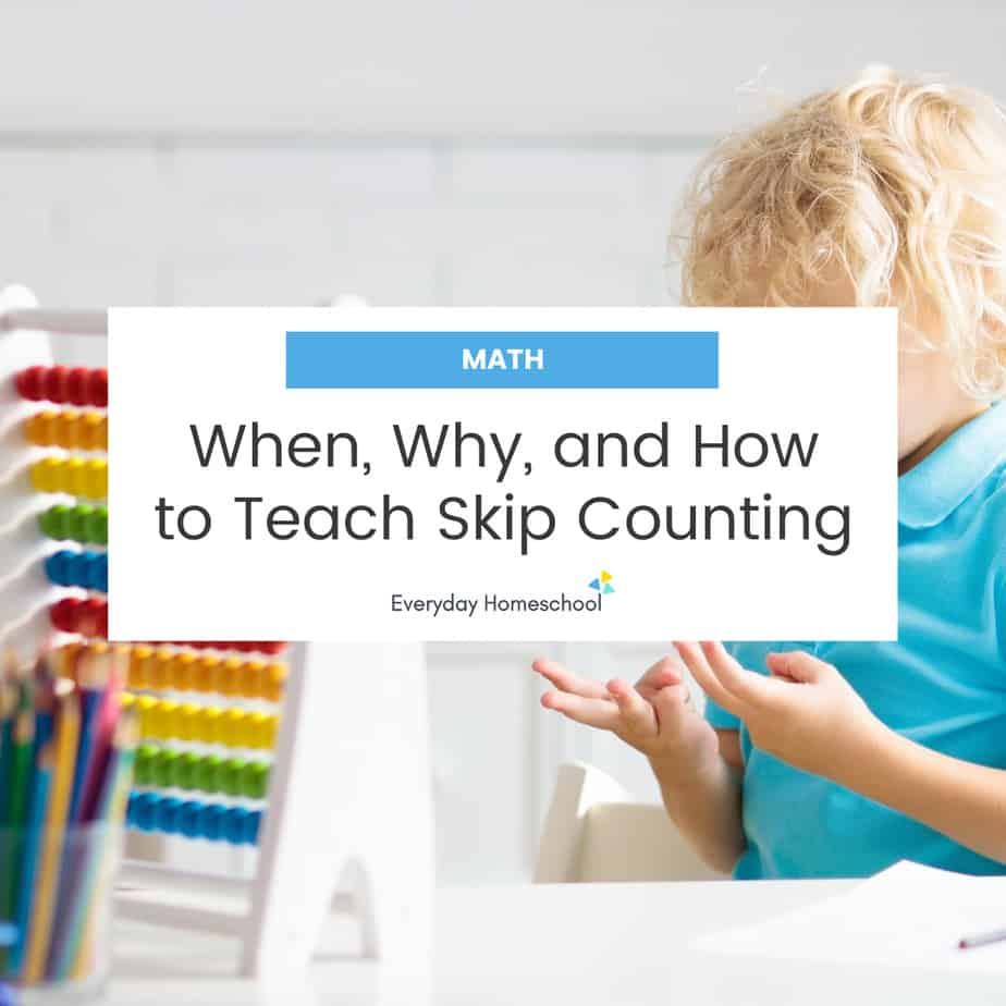 when, why and how teaching skip counting