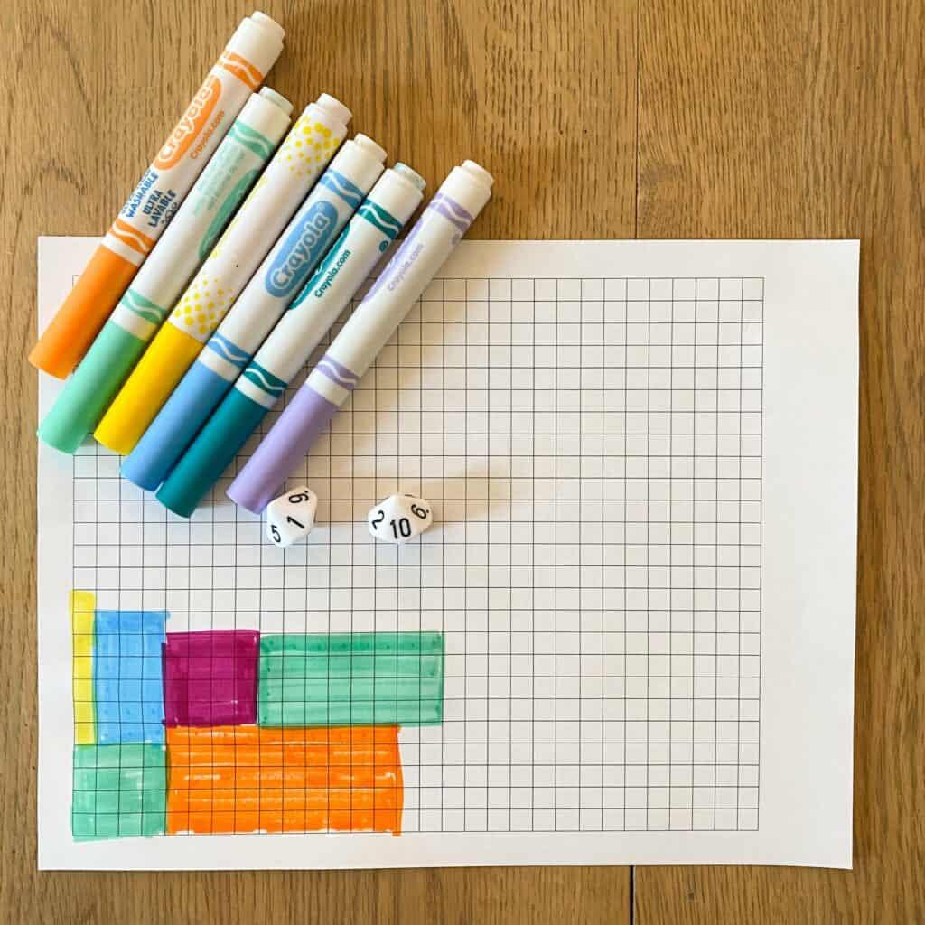 multiplication arrays worksheets free printable skip counting
