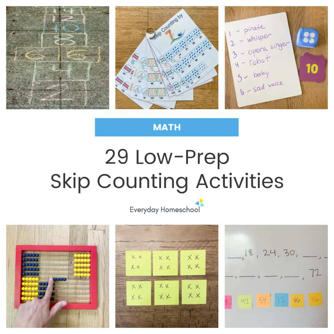 29 skip counting activities