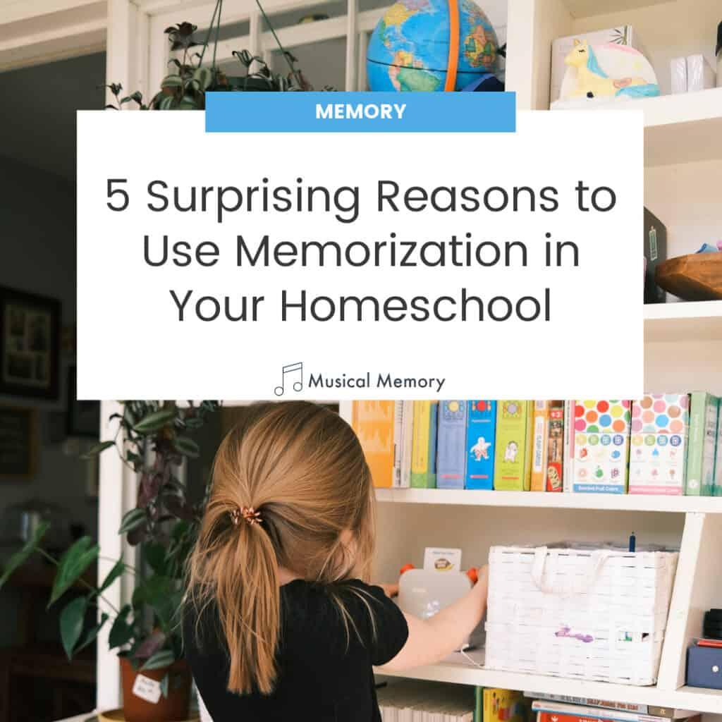 memory work homeschool